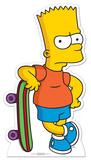 Bart Simpson Lifesize Standup Silhouette en carton