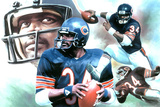 Chicago Bears (Walter Payton) Sports Poster Posters
