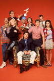 Arrested Development Cast Red TV Poster Posters