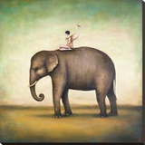 Eternal Companions Stretched Canvas Print by Duy Huynh