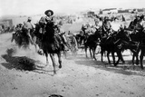 Pancho Villa On Horseback Poster Photo
