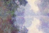 Claude Monet The Seine at Giverny Morning Mist Poster Prints by Claude Monet