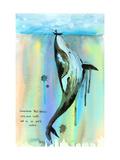 Whalelala Kunstdrucke von Lora Zombie