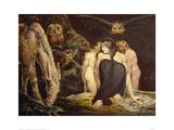 Hecate Lámina giclée por William Blake