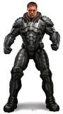 General Zod Lifesize Standup Silhouette en carton