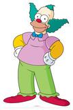 Krusty the clown Lifesize Standup Silhouettes découpées en carton
