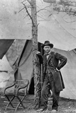 President Ulysses S Grant Cold Harbor Virginia 1864 Archival Photo Poster Photo