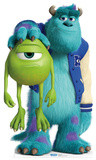 Sulley and Mike - Monster's University Lifesize Standup Silhouette en carton