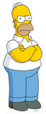 Homer Simpson Lifesize Standup Papfigurer