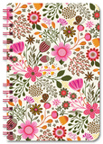 Sweet Garden Spiral Notebook Journal