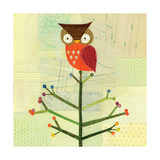 Owl In Tree Giclee Print by Lorena Siminovich