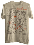 Game of Thrones - Simple Map Shirt