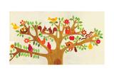 Tree Buddies Wydruk giclee autor Lorena Siminovich