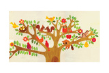 Tree Buddies Giclee Print by Lorena Siminovich
