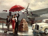 Transcontinental Flight Posters by Brent Heighton