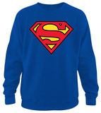 Crew Sweatshirt: Superman - Classic Logo T-shirts