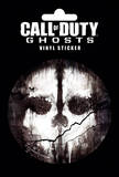Call Of Duty Ghosts Skull Vinyl Sticker Stickers
