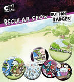 Regular Show Badge Pack Badge