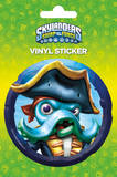 Skylanders Swap Force Wash Buckler Vinyl Sticker Klistermærker