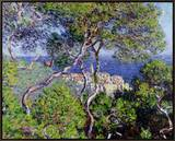 Bordighera, 1884 Framed Canvas Print by Claude Monet