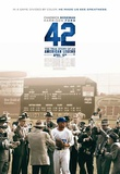 42 (Chadwick Boseman, T.R. Knight, Harrison Ford) Movie Poster Masterprint