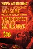 Evil Dead 2013 Movie Poster Masterprint
