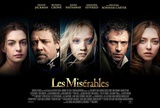 Les Miserables (Hugh Jackman, Russell Crow, Anne Hathaway) Movie Poster Masterprint