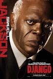 Django Unchained (Jamie Foxx, Christoph Waltz, Quentin Tarantino) Movie Poster Kunstdruck