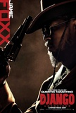 Django Unchained (Jamie Foxx, Christoph Waltz, Quentin Tarantino) Movie Poster - Reprodüksiyon