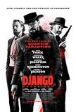 Django Unchained (Jamie Foxx, Christoph Waltz, Quentin Tarantino) Movie Poster - Resim