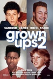 Grown Ups 2 (Adam Sandler, Kevin James, Chris Rock) Movie Poster Masterprint