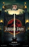 Jurassic Park 3D Movie Poster Photographie