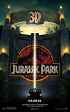 Jurassic Park 3D Movie Poster Kunstdrucke
