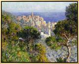 Monet: Bordighera, 1884 Framed Canvas Print by Claude Monet