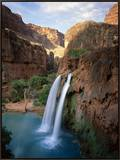 Havasu Falls Framed Canvas Print by James Randklev
