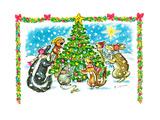 December '66 - Jack & Jill Giclee Print by Barbara Werner