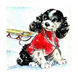 First Snow - Jack & Jill Giclee Print by Allan Eitzen