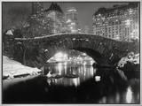 Lago em Nova York no Inverno Impressão em tela emoldurada por  Bettmann
