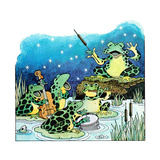 The Frog Opera - Jack & Jill Giclee Print by Jack Weaver