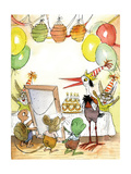 The Present - Turtle Giclee Print by Valeri Gorbachev