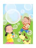 Bubbles - Humpty Dumpty Giclee Print