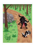 Grizzly's Adventures - Jack & Jill Giclee Print by Eric Sturdevant