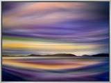Coastlines Framed Canvas Print by Ursula Abresch