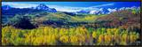 San Juan Mountains, Colorado, USA Framed Canvas Print by  Panoramic Images