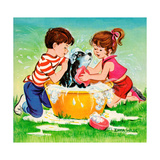 Jenny's Secret - Jack & Jill Giclee Print by Irma Wilde