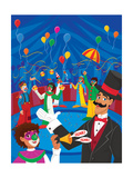 The Greatest Clowns in Town - Jack & Jill Giclee Print by Scott Burroughs
