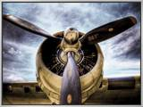 1945: Single Engine Plane Framed Canvas Print by Stephen Arens