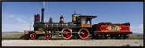 Train Engine on a Railroad Track, Locomotive 119, Golden Spike National Historic Site, Utah, USA Framed Canvas Print by  Panoramic Images