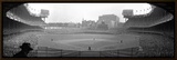 New York's Yankee Stadium as the Yankees Hosted the Brooklyn Dodgers Framed Canvas Print