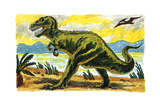 Creature Feature - Jack & Jill Giclee Print by Earl Handy